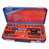"888 By SP Tools Socket Set 888 1/4"" & 3/8 Dr 12PT Metric/SAE 55Pc Sparesbox - Image 1"
